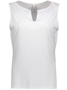 Zoso Top BIANCA LUXERY BASIC TOP WHITE