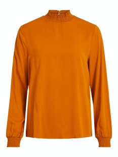 Vila T-shirt VIDANIA SMOCK L/S TOP/SU - NOOS 14056537 Pumpkin Spice