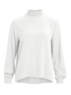 Vila T-shirt VIDANIA SMOCK L/S TOP/SU - FAV 14058337 Cloud Dancer