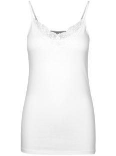 Vero Moda Top VMINGE LACE SINGLET GA NOOS 10229188 Bright White