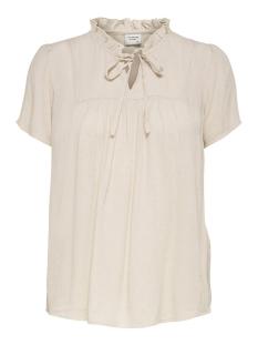 Jacqueline de Yong T-shirt JDYLIMA LIFE S/S TOP WVN 15207809 Tapioca