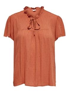 Jacqueline de Yong T-shirt JDYLIMA LIFE S/S TOP WVN 15207809 Bruschetta