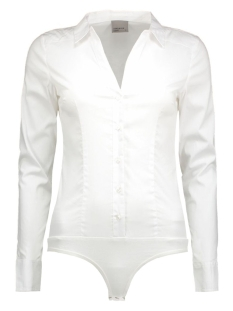 VMLADY L/S G-STRING SHIRT NOOS 10145522 Bright White