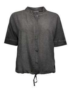vmaby wide shirt dnm v 10156163 vero moda blouse asphalt