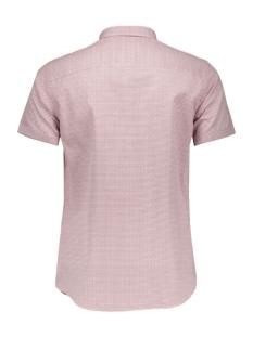 jjprdane shirt s/s plain 12112271 jack & jones overhemd rosewood