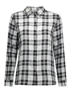 onlstockholm cici l/s shirt noos wv 15109947 only blouse cloud dancer/new black