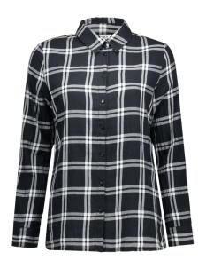 onlSTOCKHOLM CICI L/S SHIRT NOOS WV 15109947 Black/Black and White