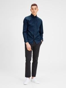 jprtim shirt l/s noos 12108806 jack & jones overhemd navy blazer
