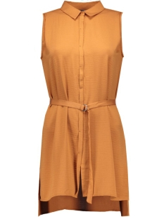 vmsabrina s/l long shirt ga 10161645 vero moda blouse adobe