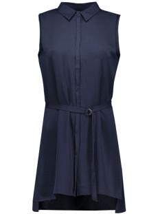 vmsabrina s/l long shirt ga 10161645 vero moda blouse navy blazer