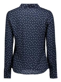 vmscissor l/s shirt dnm 10161685 vero moda blouse navy blazer/scissor