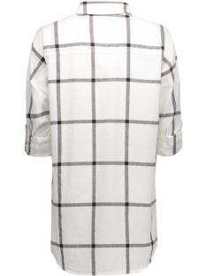 nmerik l/s oversize shirt s  ex 10169749 noisy may blouse snow white/black