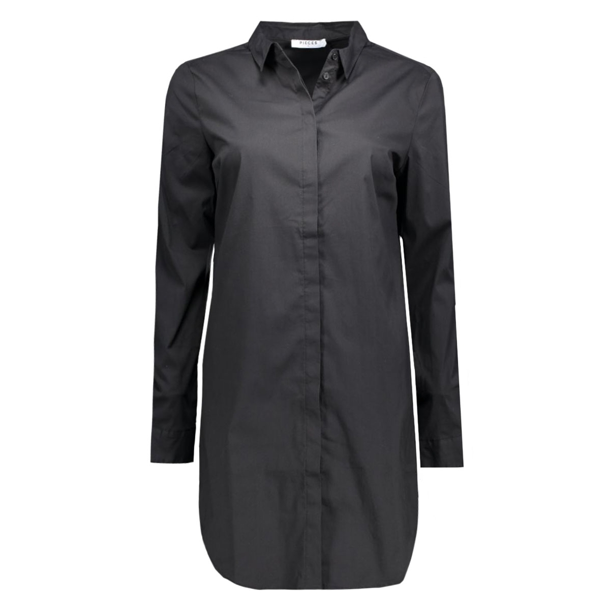 pcbenita ls long shirt noos 17074758 pieces blouse black