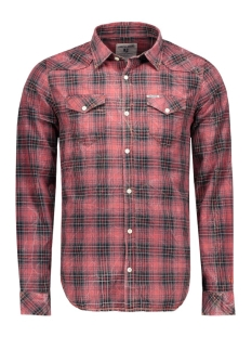 Garcia Blouses S61028_men`s shirt ls 1699 1699 kings red