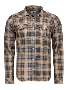 s61028_men`s shirt ls 1927 garcia overhemd 1927 wood