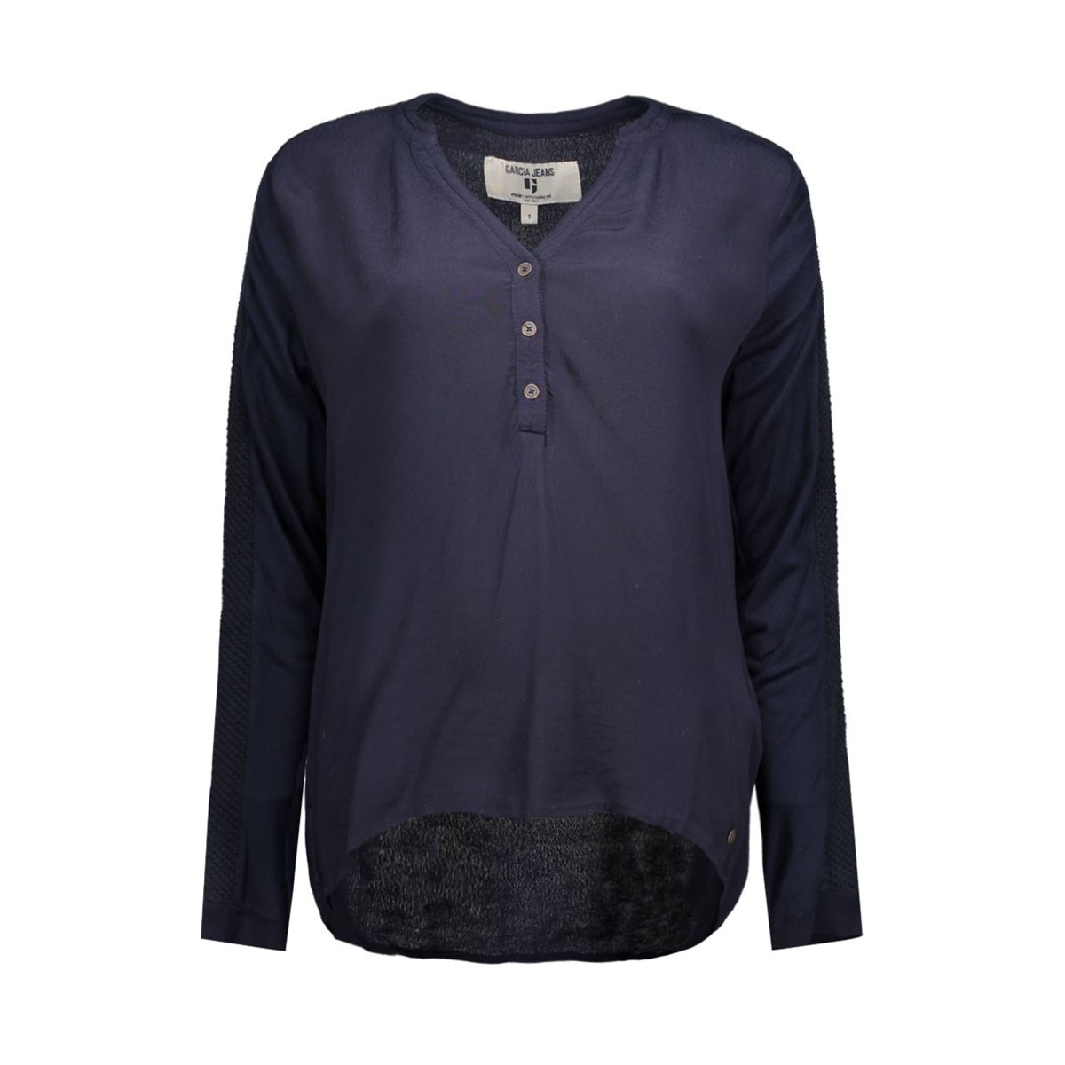 t60231 garcia blouse 20 dark navy