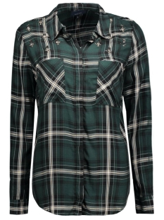 onlstone l/s haley shirt  with emb 15122096 only blouse scarab