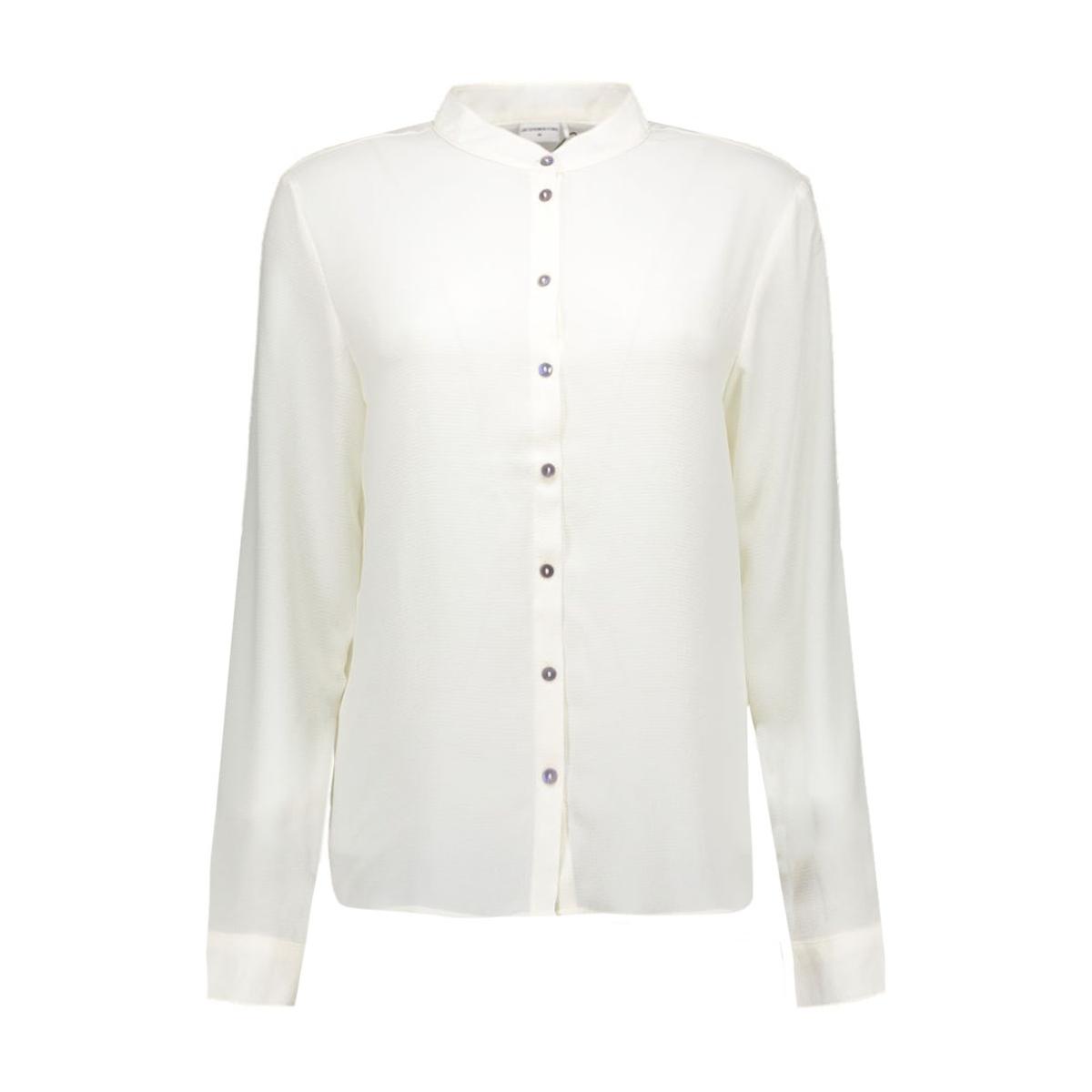 jdywave l/s shirt wvn 15121468 jacqueline de yong blouse cloud dancer