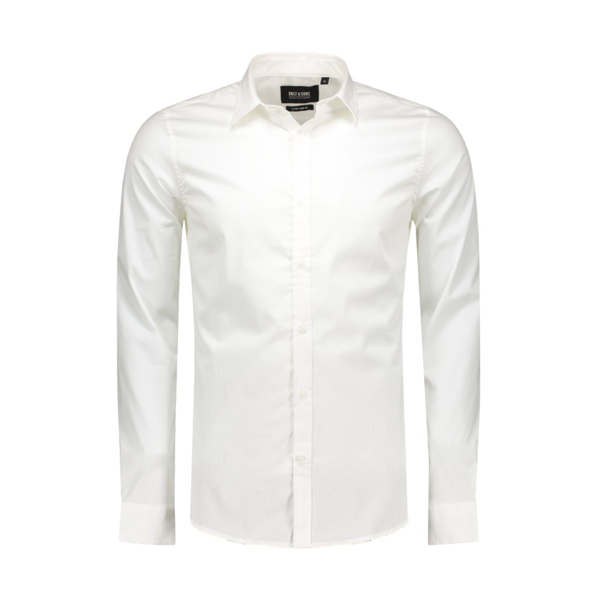 onsalejandro ls shirt noos 22004874 only & sons overhemd white