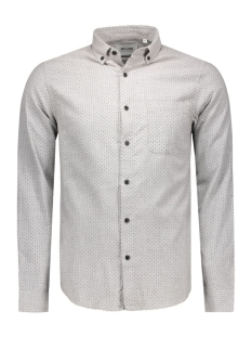onssteen l/s shirt noos 22004262 only & sons overhemd light grey melange