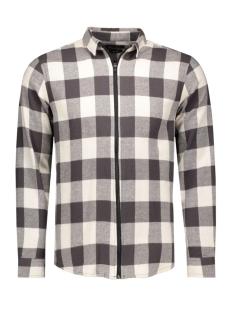 onsspencer zipper l/s shirt 22004276 only & sons overhemd cloud dancer