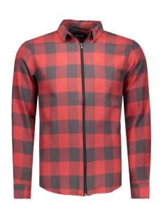 Only & Sons Overhemd onsSPENCER ZIPPER L/S SHIRT 22004276 Rosewood