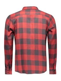 onsspencer zipper l/s shirt 22004276 only & sons overhemd rosewood
