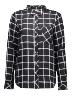 JDYJORDIE L/S CHECK SHIRT WVN 15125940 Black/Cloud dancer