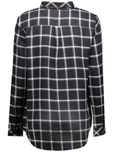 jdyjordie l/s check shirt wvn 15125940 jacqueline de yong blouse black/cloud dancer