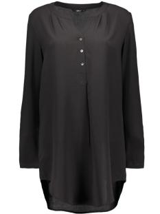 Only Blouses onlNOVA LUX LONG TUNIC SHIRT SOLID 15125010 Black