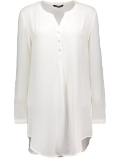 onlNOVA LUX LONG TUNIC SHIRT SOLID 15125010 Cloud Dancer