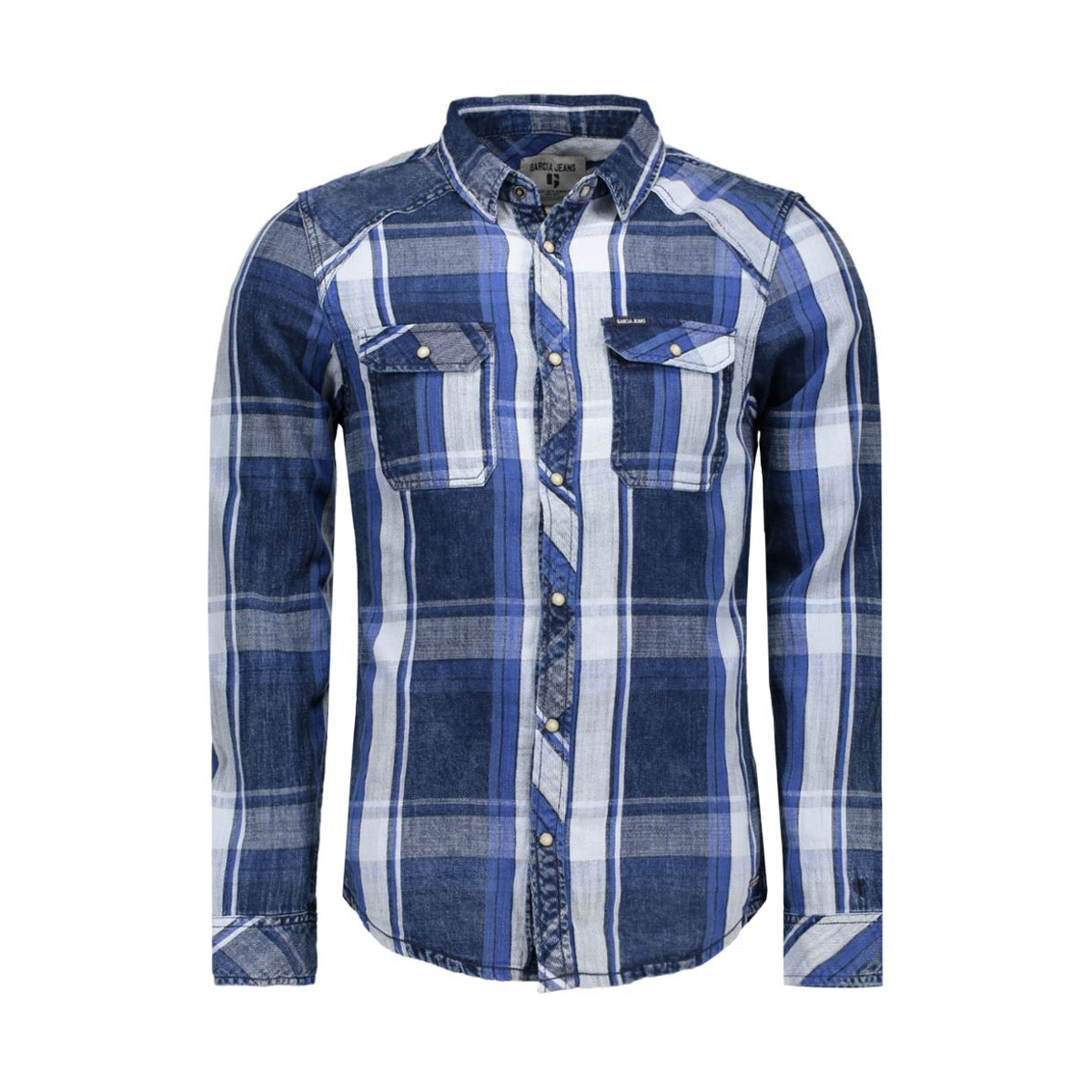 t61234 garcia overhemd 1050 indigo