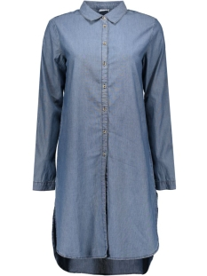 Jacqueline de Yong Blouse JDYADELE L/S LONG SHIRT WVN 15123728 Medium Blue Denim