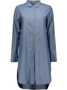 jdyadele l/s long shirt wvn 15123728 jacqueline de yong blouse medium blue denim