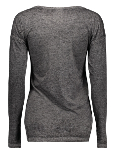 mlcolly ls jersey top 20006380 mama-licious positie shirt dark grey melange