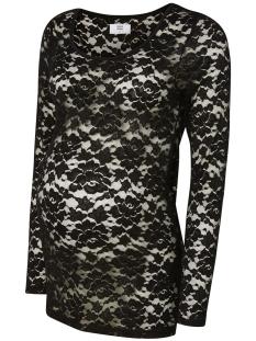 Mama-Licious Positie shirt MLKATY LS JERSEY TOP 20006461 Black
