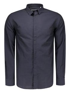 Jack & Jones Overhemd JPRVITO SHIRT L/S PLAIN 12095138 Dark Navy/DOT/ SLIM
