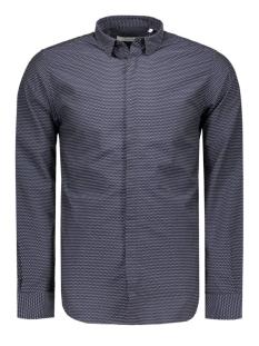 Jack & Jones Overhemd JPRVITO SHIRT L/S PLAIN 12095138 Dark Navy/HAREQUIN