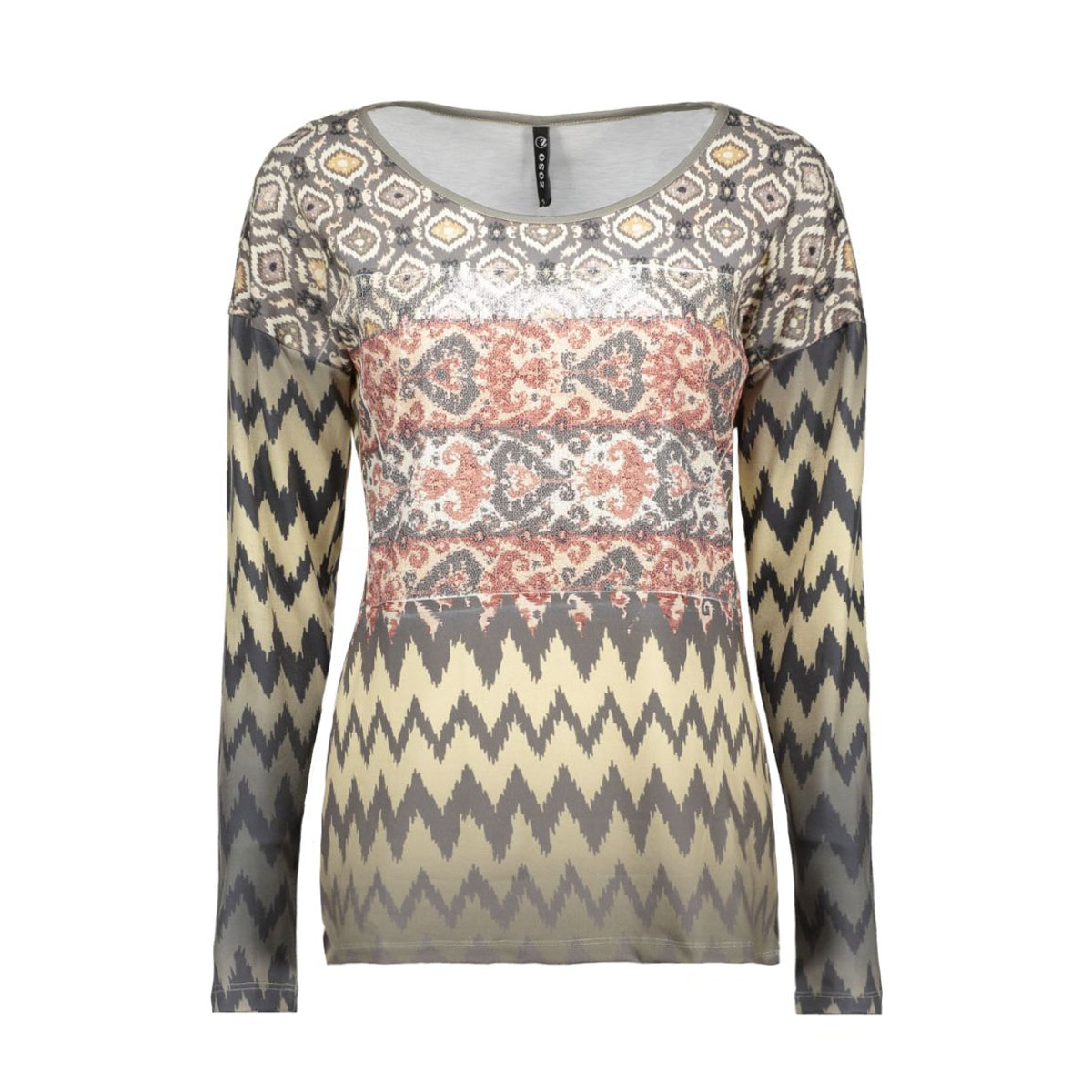bailey zoso t-shirt taupe