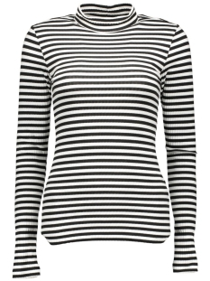 Pieces T-shirt PCRAYA T-NECK LS TOP 17080331 Black