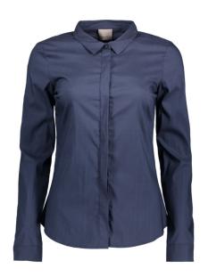 Vero Moda Blouse VMLADY FINE L/S SHIRT NOOS 10164900 Navy Blazer