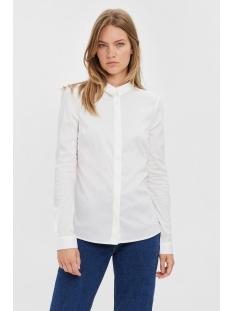 Vero Moda Blouse VMLADY FINE L/S SHIRT NOOS 10164900 Bright White