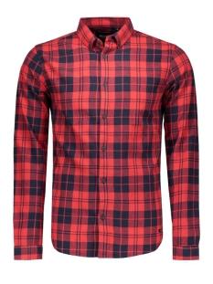 Only & Sons Overhemd onsSVEN LS SHIRT Black/RED CHECKS