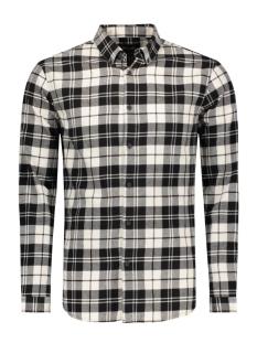 Only & Sons Overhemd onsSVEN LS SHIRT 22004067 Black/W/White