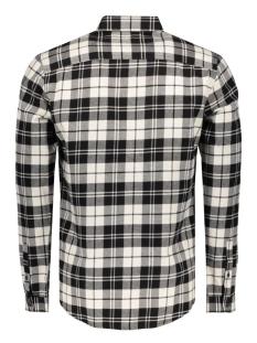 onssven ls shirt 22004067 only & sons overhemd black/w/white