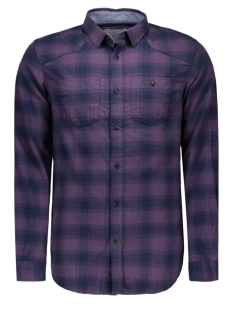 JCOLOADER SHIRT L/S TWO POCKETS 12109058 Nightshade/SLIM FIT
