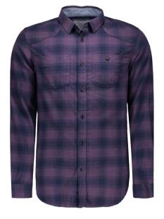 Jack & Jones Overhemd JCOLOADER SHIRT L/S TWO POCKETS 12109058 Nightshade/SLIM FIT