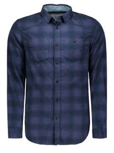 Jack & Jones Overhemd JCOLOADER SHIRT L/S TWO POCKETS 12109058 Navy Blazer/SLIM FIT