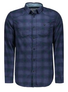 jcoloader shirt l/s two pockets 12109058 jack & jones overhemd navy blazer/slim fit