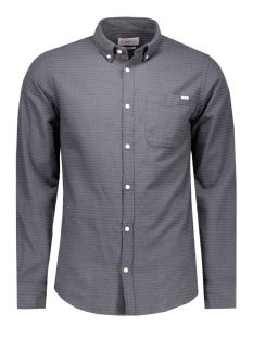 jorground shirt l/s 12109915 jack & jones overhemd asphalt